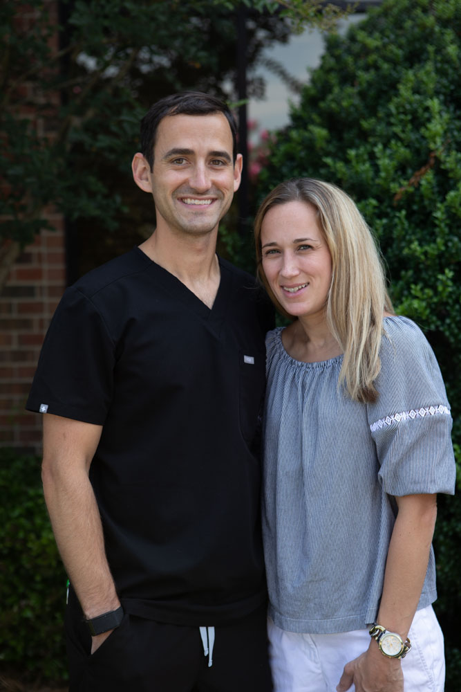 Image showing Dr. Andy Pernell and his wife, Summit Family Dentistry in Denver, North Carolina