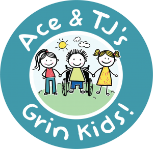 Ace and TJ's Grin Kids logo, Summit Family Dentistry, Denver, North Carolina