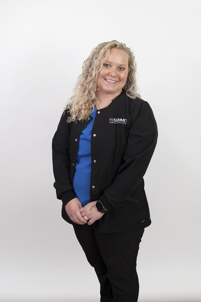 tori, a dental assistant at summit family dentistry in denver nc